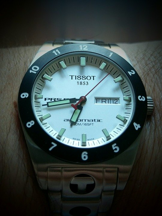 solarny tissot t-touch